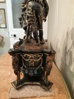 Superb Quality & Unusual French Clock Garniture (9 of 19)