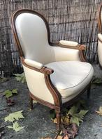 Pair of French Bergere Armchairs (6 of 10)