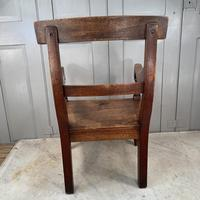 Antique Georgian Childs Mahogany Chair (6 of 10)