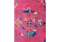 Antique Chinese Art Deco Carpet (8 of 9)