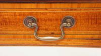 Victorian Jas Shoolbred Inlaid Mahogany Writing Table (22 of 24)