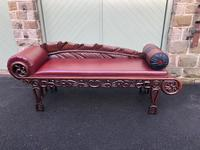 Antique Oriental Chinese Opium Day Bed (11 of 11)