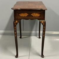 Rare 18th Century Dutch Marquetry Writing Table (4 of 13)