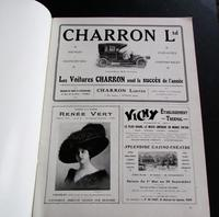 1910 Figaro Illustre Original French Journal. Motoring Adverts, Unusual Poster Size Prints (3 of 4)