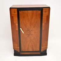 Art Deco Figured Walnut Compactum Wardrobe (3 of 11)