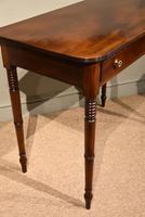 George III Single Drawer Mahogany Side Table (6 of 6)