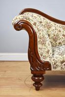 Small Victorian Mahogany Chaise Longue (6 of 8)
