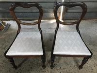 Pair of Beautiful Victorian  Rosewood Chairs (5 of 7)