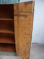 Handmade Indian Mango & Teak Large Painted Sky Blue 2 Door Storage Cupboard (13 of 13)