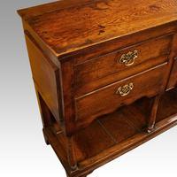 Antique oak pot board dresser (4 of 13)