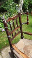 Good 19th Century Child's Rocking Chair (5 of 6)