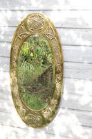 Arts & Crafts Movement Scottish / Glasgow School Large Oval Wall Mirror c.1900 (19 of 28)