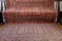 Large Mid 20th Century Afghan Ensi Rug (5 of 13)