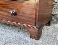 Antique Mahogany Chest of Drawers on Bracket Feet (12 of 12)