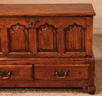 Small English Chest in Oak - 18th Century (3 of 16)