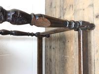 Antique Oak Carved Desk (11 of 13)