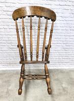 Large Victorian Windsor Spindleback Armchair (5 of 5)