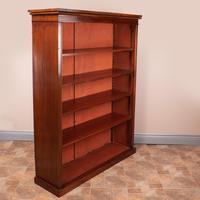 Large Mahogany Bookcase (4 of 6)