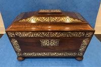 Regency Rosewood Twin Canister Tea Caddy (9 of 23)