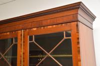 Antique  Inlaid Mahogany Wardrobe (6 of 12)