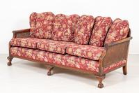 Good Quality Mahogany Bergere Suite (7 of 14)