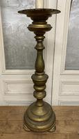 Large French Gilt Church Candlestick (7 of 9)