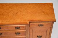 Small Burr Walnut Breakfront Sideboard c.1930 (4 of 11)