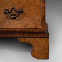 Antique Gentleman's English Burr Walnut Chest of Drawers - Georgian (12 of 12)