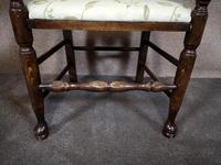 Pair Of Oak Ladder Back Armchairs (5 of 9)