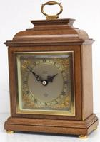 Perfect Vintage Mantel Clock Caddy Top Bracket Clock by Elliott of London Retailed by Thornton Kettering (2 of 9)