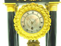 French Regulator Table Portico Mantel Clock Sought After Classic 8 day Clock (4 of 11)