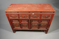 Finely Carved Early 20th Century Oriental Sideboard (6 of 6)