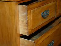 Satin Walnut Chest of Drawers (5 of 6)