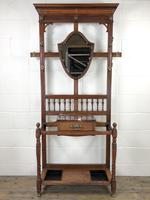 Antique Mahogany Hall Stand (3 of 10)