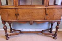 Quality Antique Walnut Display Cabinet (8 of 19)