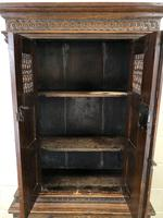 19th Century Oak Cupboard on Stand (5 of 10)