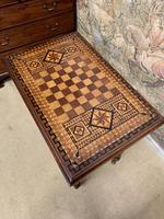 19th Century Games / Occasional Table with Inlaid Top (5 of 7)