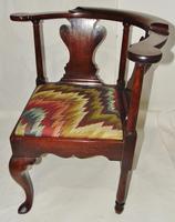 George II Red Walnut Corner Chair (7 of 7)
