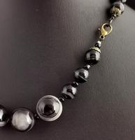 Antique Victorian Banded Agate Bead Necklace (8 of 13)