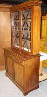 1910s Edwardian Quality Mahogany Chiffoniere Bookcase with Inlay (3 of 5)