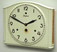 Awesome Kitch Ceramic Pot Clock – Junghans 1940s Kitchen Wall Clock (2 of 6)