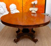 William IV Rosewood Breakfast Table Tilt Top Centre Dining Table (6 of 12)