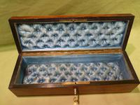 Exquisite French Inlaid – Parquetry Glove – Jewellery Box c.1870 (10 of 11)