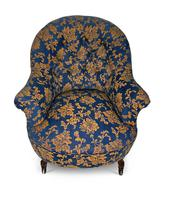 Small Napoleon III Buttoned Tub Chair (2 of 6)