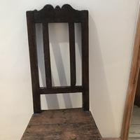 1680's Oak Pegged Chair (4 of 15)