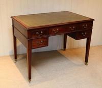 Large Mahogany Writing Desk (9 of 11)