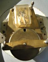 Unique and Scarce 1940's French Platform Escapement Office Wall Clock. (4 of 5)