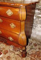 18th Century Dutch Oak Bombe Chest (3 of 8)