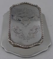 Antique Silver Desk Clip London 1911