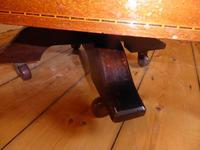 Inlaid Mahogany Revolving Bookcase (6 of 9)